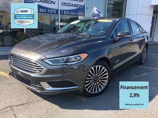 Ford Fusion Energi SE LUXURY CUIR GPS CERTIFIÉ FORD TAUX 2.9% 72 MOIS 2018
