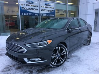 Ford Fusion TITANIUM AWD 2.0L ECO CUIR TOIT COND SHOWROOM 2018
