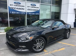 Ford Mustang EcoBoost Premium DECAPOTABLE CUIR GPS SHOWROOM 2017