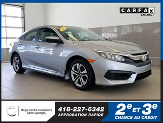 Honda Civic Sedan LX / Garantie prolongée 2016