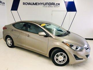Hyundai Elantra L ***MAGS + BAS KILOMÉTRAGE & IMPECCABLE*** 2014