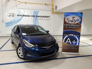 Hyundai Elantra GL/DÉMARREUR/AC 2015