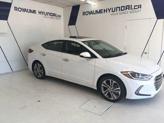 2017 Hyundai Elantra LIMITED / GPS / TOIT / SIÈGES CHAUFFANTS