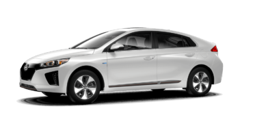 Hyundai Ioniq Electric ULTIMATE w/ White Ext. 2019