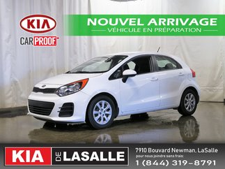 Kia Rio5 LX+ // Bluetooth // AC // Sieges chauffants ... 2016