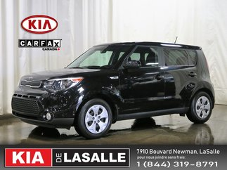 2016 Kia Soul 1.6L LX Manuel // Aucun Accident // Bluetooth ...