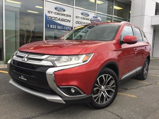 Mitsubishi Outlander GT AWD V6 CUIR TOIT 7 PASSAGERS ETAT NEUF 2016