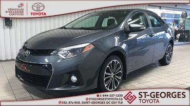 Toyota Corolla S,TOIT OUVRANT, MAGS 2014