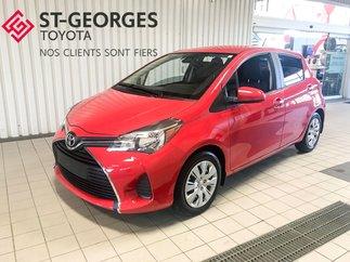 2017 Toyota Yaris LE,GARANTIE PROLONGÉ 5 ANS 100 000 KILO