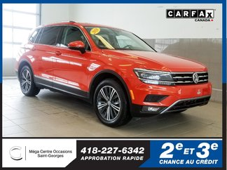 Volkswagen Tiguan Highline / Awd / Toit panoramique 2018