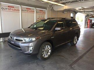 Toyota Highlander hybrid Limited 2011