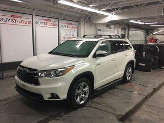 Toyota Highlander hybrid Limitedé AWD, GPS, Toit Pano, 2015