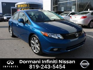 2012 Honda Civic Si Sedan 6-Speed MT