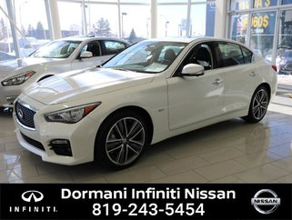 2017 Infiniti Q50 Q50 Sport AWD LEATHER, GPS, FULL EQUIPPED, CERTIFIED