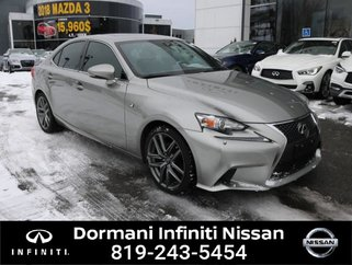 2015 Lexus IS 250 F PKG, GPS, AWD, WINTER TIRES INCL