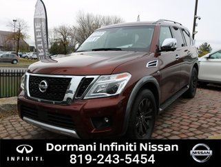 2017 Nissan Armada PLATINUM EDITION AWD