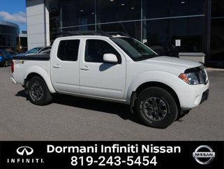 2017 Nissan Frontier PRO-4X Crew Cab 6MT 4WD