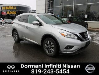 2017 Nissan Murano SL AWD, LEATHER, GPS, CERTIFIED NISSAN