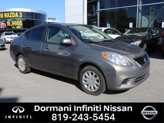 2012 Nissan Versa SV XTRONIC CVT