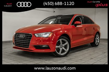 2015 Audi A3 2.0T QUATTRO KOMFORT STYLING PACK