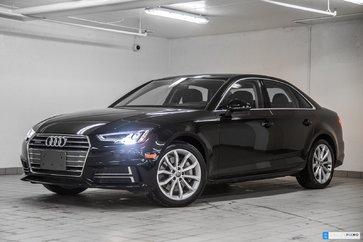 2018 Audi A4 2.0T QUATTRO PROGRESSIV AUDI CONNECT
