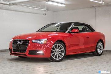 2015 Audi A5 CABRIOLET PROGRESSIV NAVIGATION CAMÉRA
