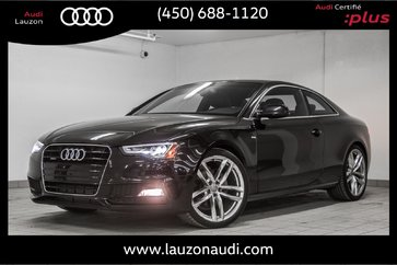 2015 Audi A5 TECHNIK S-LINE AUDI EXCLUSIVE PACKAGE
