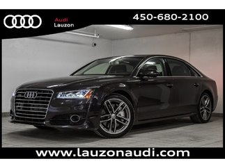 2017 Audi A8 L 4.0T SPORT DYNAMIC, DRIVER ASSIST