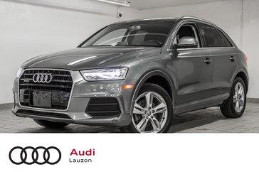 Audi Q3 QUATTRO PROGRESSIV, NAV, CONVENIENCE 2016
