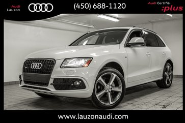 2015 Audi Q5 TECHNIK S-LINE, BLACK OPTICS, B&O, NAV