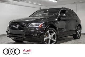 Audi Q5 3.0T TECHNIK S-LINE, BLACK OPTICS, B&O, NAV 2015