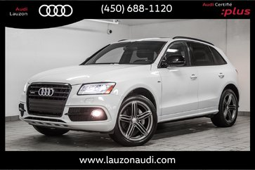 2017 Audi Q5 3.0T PROGRESSIV S-LINE COMPETITION