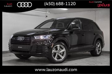 2018 Audi Q7 3.0T PROGRESSIV S-LINE BLACK OPTICS, DRIVER ASSIST