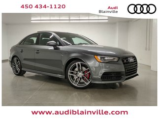Audi S3 PROGRESSIV BLACK OPTIC + ADVANCE HANDLING + NAV 2016