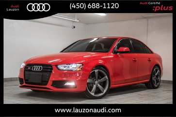 2015 Audi S4 TECHNIK BLACK OPTICS, SPORT DIFF, ADAPT SUSPENSION