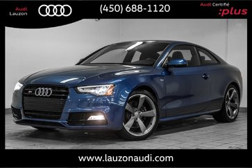 2016 Audi S5 PROGRESSIV PLUS CARBON BLACK OPTIC