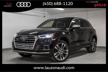 2018 Audi SQ5 TECHNIK, SPORT DIFF, AIR SUSP, DRIVER ASSIST PACK