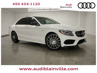 Mercedes-Benz C-Class C43 AMG 4MATIC TOIT PANO + HEADS UP DISPLAY + NAV 2018