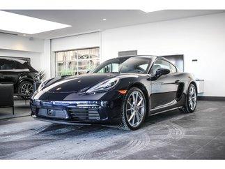 Porsche 718 Cayman S PDK Sport Exhaust 2018