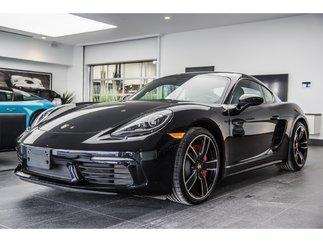 Porsche 718 Cayman S -Système audio ambiophonique BOSE® ? 2018