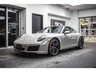 Porsche 911 Targa 4 Sport Exhaust 2018