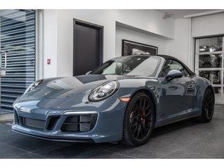 Porsche 911 Carrera 4 GTS CABRIOLET MSRP $195,455 2018