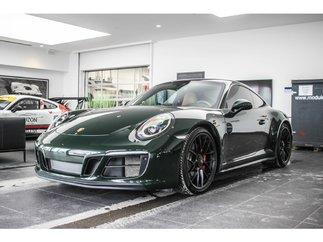 Porsche 911 Carrera GTS Green Manual trans. Sport Exaust 2018