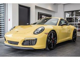 Porsche 911 Carrera S SPOST EXHAUST, SPORT CHRONO MSRP$162330 2018
