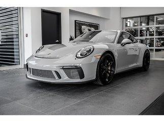 Porsche 911 GT3 MSRP $208,360 2018