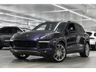 Porsche Cayenne S Platinum Edition 2018