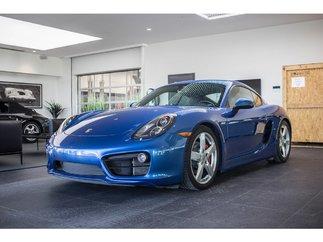 Porsche Cayman S GPS Sport Chrono package 2015