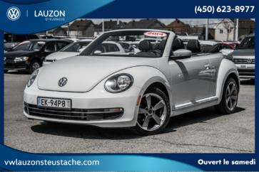 Volkswagen Beetle Convertible Comfortline+Cuir+A/C+Bluetooth 2014