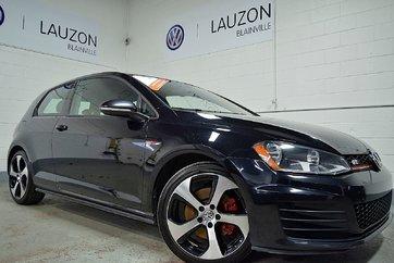 2015 Volkswagen Golf GTI Groupe sport 3 portes