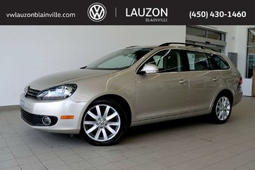 Volkswagen Golf wagon Highline TDI 2012